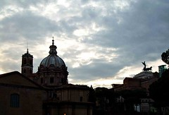 ROMA - Lazio (cannuccia) Tags: paesaggi landscape roma lazio controluce cupole cieli nuvole