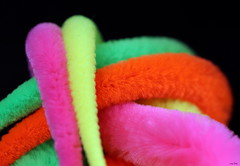 Fuzzy Colors (Lisa Zins) Tags: macro tamron mondays macromondays picktwo fuzzy toy january21 2019 cattoy feline cat closeup colorful colors lisazins squiggly warm wand chewycom wiggly