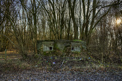 Bunker (nigdawphotography) Tags: bunker ww2 concrete architecture woods trees sawbridgeworthairfield herfordshire