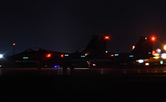 F15Es @ Night (np1991) Tags: royal air force raf lakenheath ln suffolk england united kingdom uk f15e f15 strike eagle 48th fighter wing fw 492nd 494th squadron fs night ops america usa american usaf usafe europe aviation planes aircraft