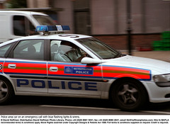 Speeding Police Car 1 (hoffman) Tags: car crime driving emergency enforcement fast horizontal hurry law outdoors police policing response road rushing speeding speedy street traffic transport travelling vehicle davidhoffman wwwhoffmanphotoscom london uk