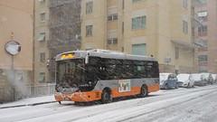 AMT 5236 (Lu_Pi) Tags: amt genova autobus bus minibus rampini rampinialè alé amtgenovalinea383 marassi neve snow
