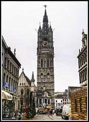 Paseando por Bélgica (edomingo) Tags: edomingo olympusomdem5 mzuiko1240 gante bélgica campanario