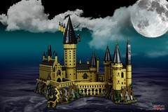 Lego Hogwarts (psychosteve-2) Tags: hogwarts castle harry potter lego bricks