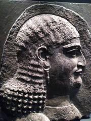 UK - London - Bloomsbury - British Museum - Relief - Beardless eunuch (JulesFoto) Tags: uk england london britishmuseum assyria sculpture head eunuch