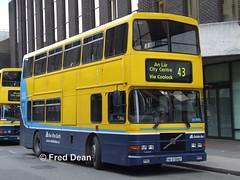 Dublin Bus RV407 (98D20407). (Fred Dean Jnr) Tags: busathacliath dublinbus dublin may2006 volvo r dublinbusyellowbluelivery olympian alexander dublinbusroute43 ctarf rv407 98d20407 marlboroughstreetdublin