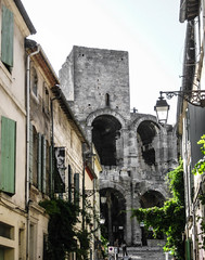 Arles Amphitheatre (bobbex) Tags: france southoffrance french lemidi camargue historic architecture arch roman romanruins
