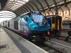 68023 at York (14/11/18) (*ECMLexpress*) Tags: first transpennine express class 68 diesel locomotive 68023 york ecml