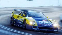 F40 Competizione (nuvoIari) Tags: forzamotorsport horizon4 videogame ferrari f40 competizione f40c racecar winter snow england