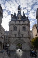 Porte Cailhau, Bordeaux, France (Tiphaine Rolland) Tags: bordeaux france gironde autumn automne 2018 nikond3000 nikon d3000 portecailhau porte gate door