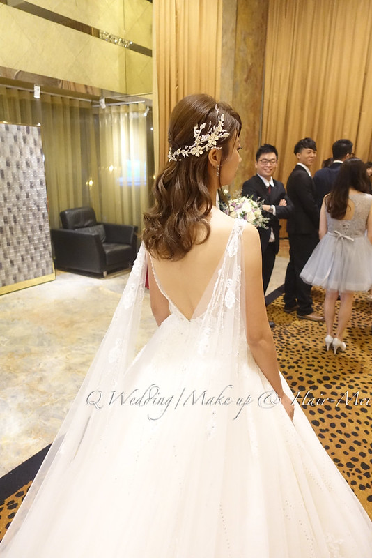 婚禮造型 姿儀 新娘秘書@台北彭園新店會館