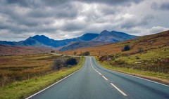 Head for the hills (Nige H (Thanks for 15m views)) Tags: nature landscape mountains snowdonia snowdon wales road