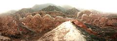 Parque geológico de Danxia, las Montañas de Colores. China (escandio) Tags: danxia china2018 china 2018 gansu