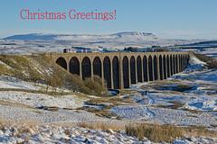 Christmas Greetings! (DWH284) Tags: ribbleheadviaduct settletocarlislerailway