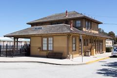Millbrae (Jan Dreesen) Tags: california californië usa united states vs verenigde staten amerika america millbrae southern pacific railroad station museum caltrain railway