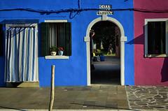 _DSC5011 (mau meda) Tags: colors burano arte architettura red blue sky laguna landscape like life light streetart street photo photograpy