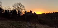 Milnsbridge Huddersfield West Yorkshire 17th January 2019 (loose_grip_99) Tags: milnsbridge huddersfield west yorkshire england uk sunrise dawn silhouette