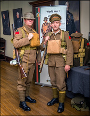 Canadian WW1 Uniforms (Rodrick Dale) Tags: canadian ww1 uniforms toronto ontario canada casa loma