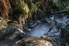 Waterfalls (rattigan_tim) Tags: waterfall movement flowing movingwater motion river waterway water scotland sutherland lairg cassleyfalls winter ice frost freeze uk walking exp explore nature scenic scenery forest walks snow snowfall stream gobe nd64