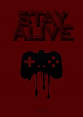 Poster Stay Alive (Diego Maroldi) Tags: stay alive terror horror publicity movie poster cartaz red vermelho game joystick