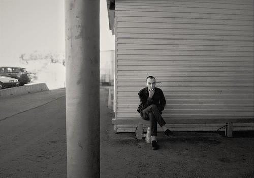 smoker alone ©  Sergei F