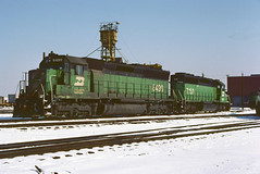 BN SD45 6499 (chuckzeiler50) Tags: bn sd45 6499 railroad emd locomotive clyde train chuckzeiler chz
