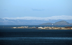 Ardrossan seen from Dundonald Hill (cmax211) Tags: ardrossan clyde ayrshire scotland dundonald hill troon