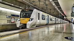 700005 at St Pancras International Thameslink Platform A (ManOfYorkshire) Tags: class700 thameslink stpancrasinternational platform station emu 700005