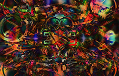hypomanic daydream... (Mark Noack) Tags: abstract abstraction expressionism abstractexpressionism futurism surrealism light color grunge layers layering photoshop awardtree shockofthenew