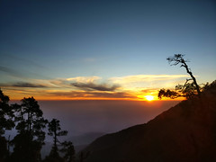 Best Sunset after a wholeday hike (Onlyshilpi) Tags: triund sunset dharmasala mountain silhouette himachal pradesh sky clouds