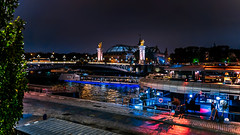 Night traffic on the Seine... (.: mike | MKvip Beauty :.) Tags: sony⍺7markiii sony⍺7iii sonyilce7m3 sonyalpha7m3 ⍺7iii ilce7m3 sonyalpha sony alpha emount fe ibis sigmafe24mmƒ14dghsm|a sigma art 24mmƒ14 handheld availablelight naturallight night nightlights water river seine boats reflections bridge pontalexandreiii lesinvalides autumn fall paris îledefrance france europe mth mkvip sigmafe24mmƒ14dghsm|art
