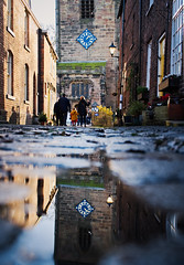 Croston, Lancashire (nickcoates74) Tags: croston church churchstreet puddle rain sunshine reflection sony sigma a6300 ilce6300 30mmf28dn 30mm lancashire chorley explored explore