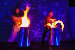 Dortmund - MPS Lichter Weihnachtsmarkt (Der Michl) Tags: mps fredenbaum weihnachtsmarkt lights fire pyro show europe germany nrw dortmund spectaculum blue plwm