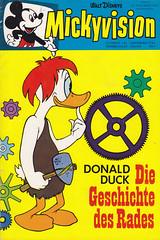 Mickyvision #1/1964 (micky the pixel) Tags: comics comic heft waltdisney ehapaverlag mickyvision donaldduck donaldandthewheel diegeschichtedesrades rad wheel höhlenmensch caveman tonystrobl vintage