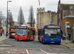 Southampton Bargate (PD3.) Tags: bus buses psv pcv southampton hampshire hants england uk wilts dorset bluestar go ahead goahead group first 2291 bn64cnv bn64 cnv volvo wright 47601 sn14ffe sn14 ffe streetlite