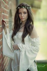 Model: Megan Bajetto (bvdbv) Tags: model canon sigma haarzuilens beauty girl woman women fantasy white portrait portret