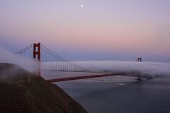 Golden Gate Bridge (Boscardin Francesco) Tags: golden gate bridge goldengatebridge san francisco sanfrancisco california usa sunset red cloud fog nikon d810 sigma 35mm