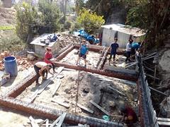 Stage dans le bâtiment au Népal (infoglobalong) Tags: bénévolat humanitaire stage bâtiment construction reconstruction catastrophe séisme tremblementdeterre maison structure chantier asie népal