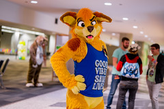 DSC00756 (Kory / Leo Nardo) Tags: furry fursuit suiting dance party dj con convention further confusion fc san jose marriott center pupleo leo kory fur costume costuming cosplay animals animal 2019 conventioncenter fc2019 fc19