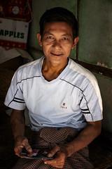 Portrait Of A Burmese Gentleman (El-Branden Brazil) Tags: myanmar burma burmese southeastasia asian asia bagan