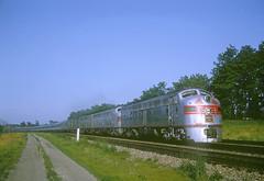 CB&Q E9 9993 (Chuck Zeiler52) Tags: cbq e9 9993 burlington railroad emd locomotive naperville train zephyr chuckzeiler chz