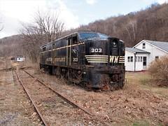 Georges Creek Railroad (photography_isn't_terrorism) Tags: wm alco railroad diesel rusty
