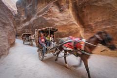 Ride in Petra, Jordan (George Pachantouris) Tags: jordan hasemite petra aqaba amman middle east travel tourism holiday warm ancient nabateans treasury roman indiana jones arab arabic