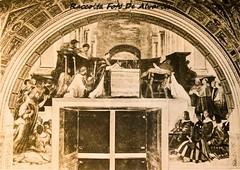 1930 Stanze del Vaticano, Il Miracolo di Bolsena, 1512 Raffaello (Alvaro ed Elisabetta de Alvariis) Tags: rioneborgo sanpietro statocittàdelvaticano cappellasistina museivaticani roma rome lazio italy fotodanonimo raccoltafotodealvariis 1930stanzedelvaticanoilmiracolodibolsena1512raffaello