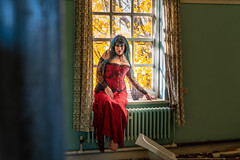 Window Light (LKB_Photography) Tags: urbex urban derelict old model models photoshoot england