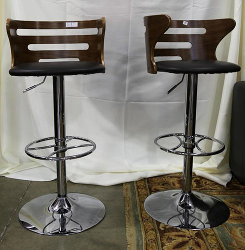 Pair of retro style bar stools ($179.20)