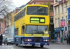Dublin Bus RA227 (95D227). (Fred Dean Jnr) Tags: april2005 dublin dublinbus busathacliath dublinbusyellowbluelivery volvo olympian alexander r dublinbusroute67x ra227 95d227 m277jgb bachelorswalkdublin croad