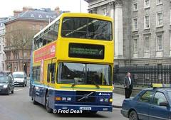 Dublin Bus RV579 (99D579). (Fred Dean Jnr) Tags: april2005 dublin dublinbus busathacliath dublinbusyellowbluelivery volvo olympian alexander r dublinbusroute7 rv579 99d579 collegegreendublin v312jmb dbrook