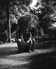 Nick, Berlin (nikolaijan) Tags: mamiya rb67 ilford panf50 bw 120 berlin neukoelln portrait berlinstreets