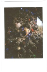 What is this? (restoredshark) Tags: instant instax instantfilm instaxmini instantphotography instantcamera instantphoto indoors mini lights bokeh long exposure christmas xmas ornament season winter white macro magic lomoinstantautomat lomography whimsical sparkly depth